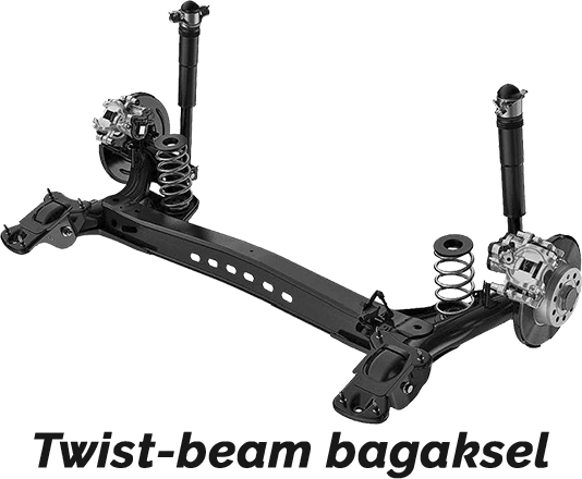 Twist-beam bakaksel